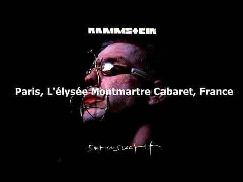 Rammstein - Spiel Mit Mir ( Paris, L'élysée Montmartre Cabaret, France 1997 )