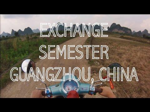 Exchange semester Guangzhou, China GoPro Hero 3