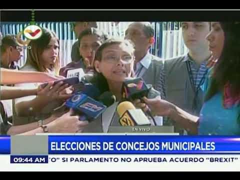 Socorro Hernández, rectora del CNE, sobre elecciones de concejales y caso de Gran Sabana
