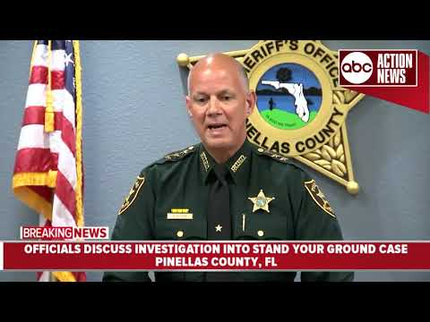 "Pinellas Sheriff updates ongoing investigation into ""Stand Your Ground"" shooting 