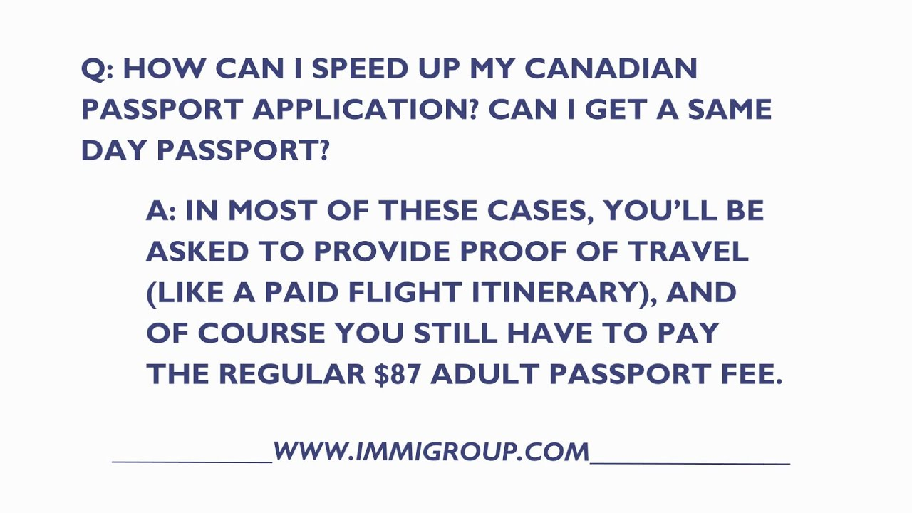 How can i speed up my canadian passport application youtube how can i speed up my canadian passport application falaconquin