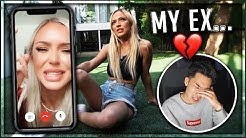 Reacting To My Ex Girlfriends Break Up Video
