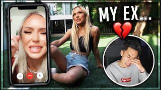 Reacting To My Ex Girlfriends Break Up Video