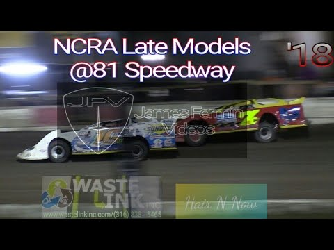 (NCRA) Late Models #29, Full Race, 81 Speedway, 10/20/18