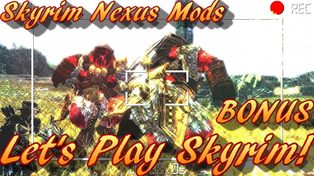 Redoran Plays - Skyrim Nexus Mods - Bolgans - Mihail Monsters and Animals!  :)