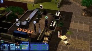 Прохождение гробниц в The Sims 3. Франция. Библиотека Ландграаба.