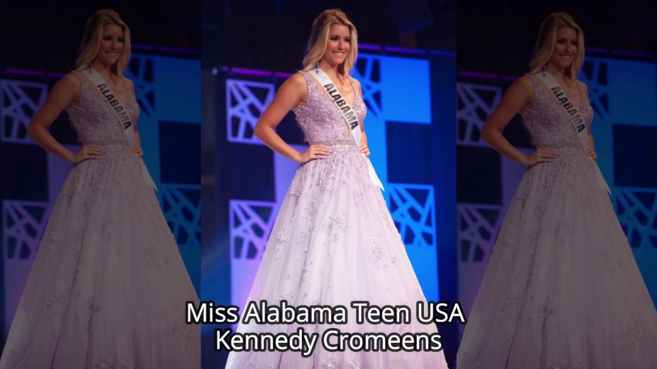 Miss Teen USA 2018 Top Ten Evening Gowns | Pageant Planet - YouTube