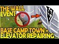 THE WALL EVENT + ITS SECRET?!- Base Camp Town, Elevator Repair - Last Day on Earth Jurassic Survival