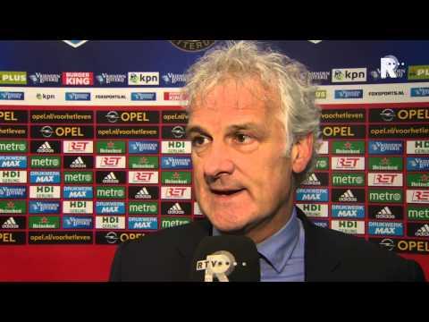Fred Rutten na afloop van Feyenoord - Excelsior