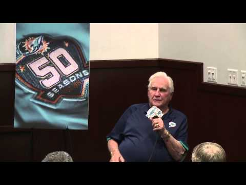 Dolphins Unveil Special Plans For 50th Season