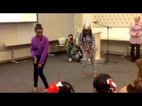African Dancing Perfomance at the Bettendorf Public Library, by exchange students from East Africa!