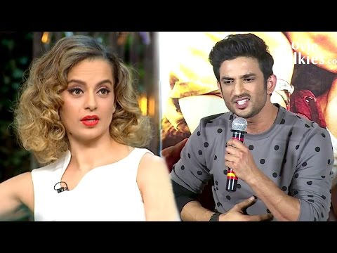 Sushant Singh Rajput On Kangana's Nepotism Comment On Koffee With Karan Season 5