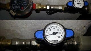 Обзор и проверка крана шарового HERZ с термометром