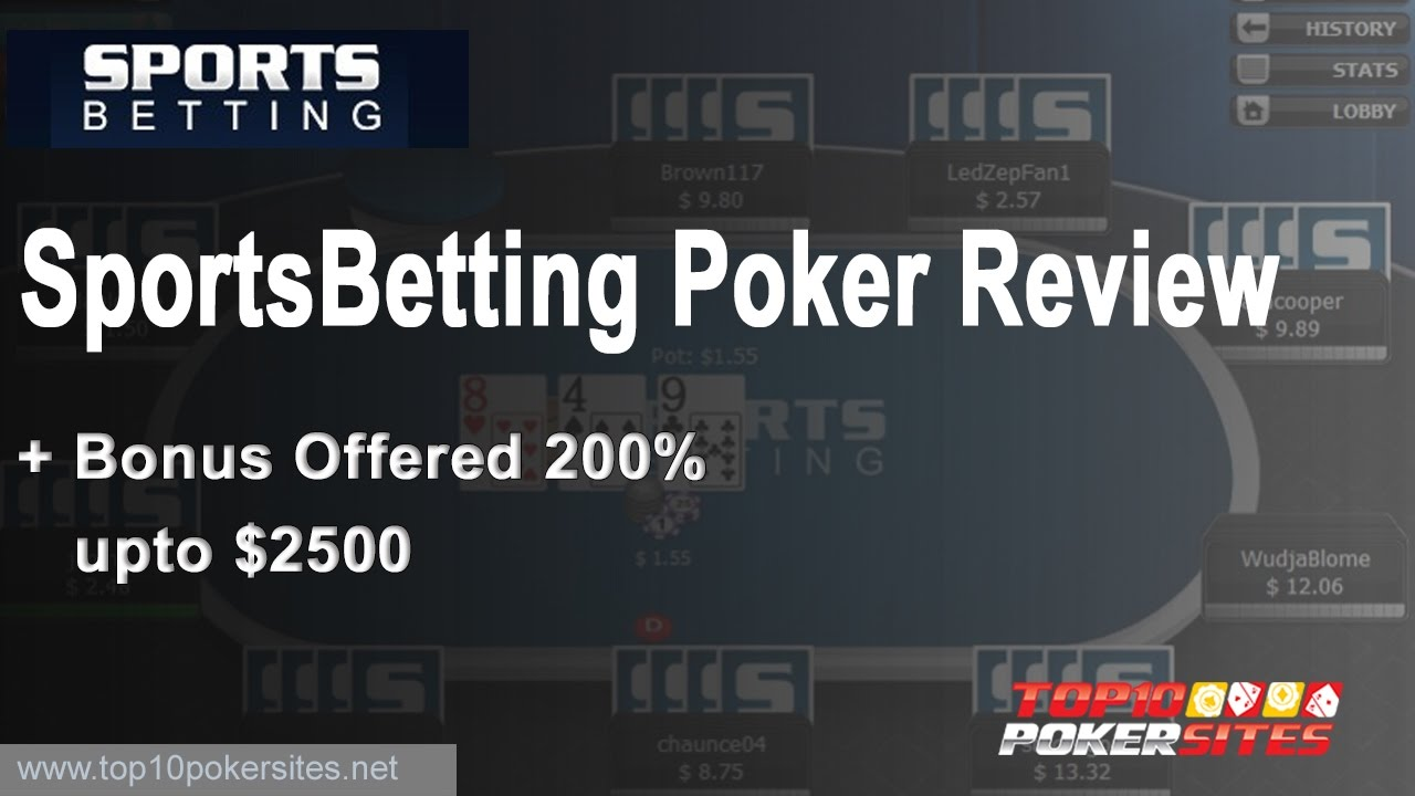 Sports betting poker reviews dog racing betting odds explained point