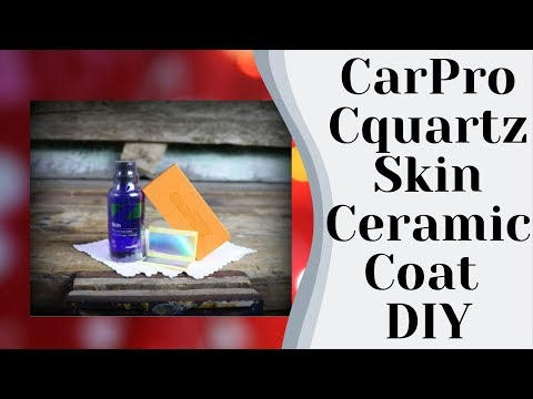 CarPro: Cquartz Skin Ceramic Coat for Vinyl Wrapped Vehicles - How to, Tutorial & Review