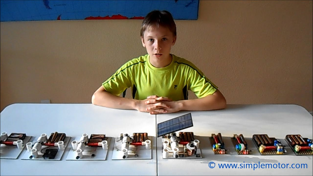 Simple Electric Motors Based On Many Physics Principles