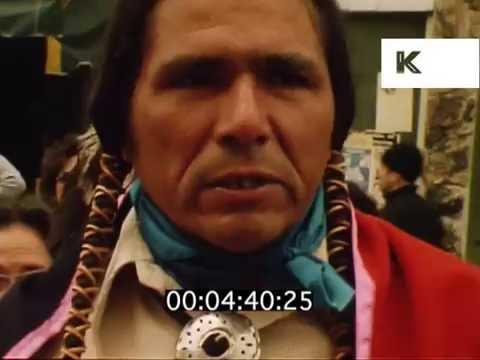 1970s Dennis Banks Interivew, San Francisco, Native American