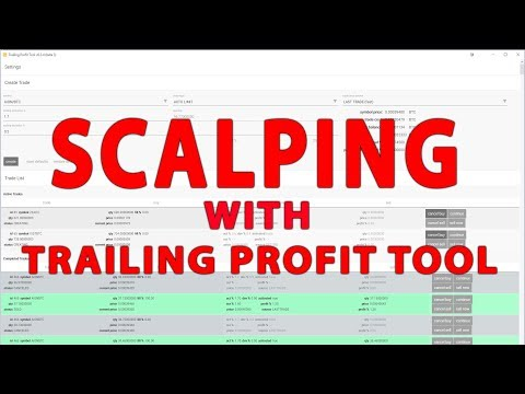 Scalping with Trailing Profit Tool Beta