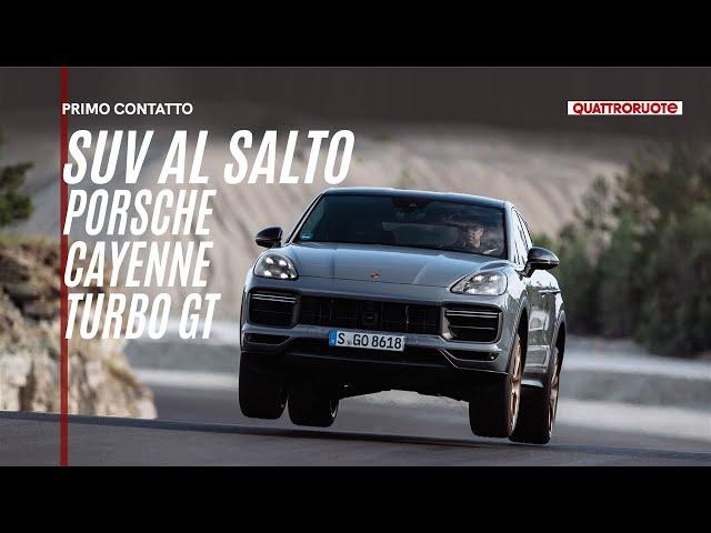 Porsche Cayenne Turbo GT (2021): la SUV Coupé non è mai stata cosi cattiva