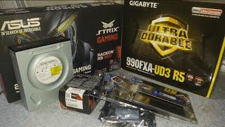 AMD FX 8300 990FXA UD3 R9 380 STRIX GAMING BILGISAYAR TOPLAMA