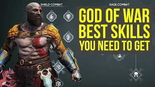 God of War Best Skills To Get AS SOON AS POSSIBLE (God of War Tips And Tricks - God of War 4 Tips)