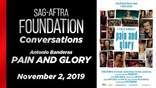 Conversations with Antonio Banderas of PAIN AND GLORY