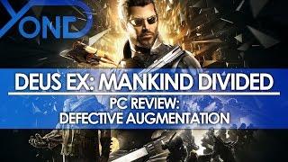 Deus Ex: Mankind Divided (PC) – Review: Defective Augmentation