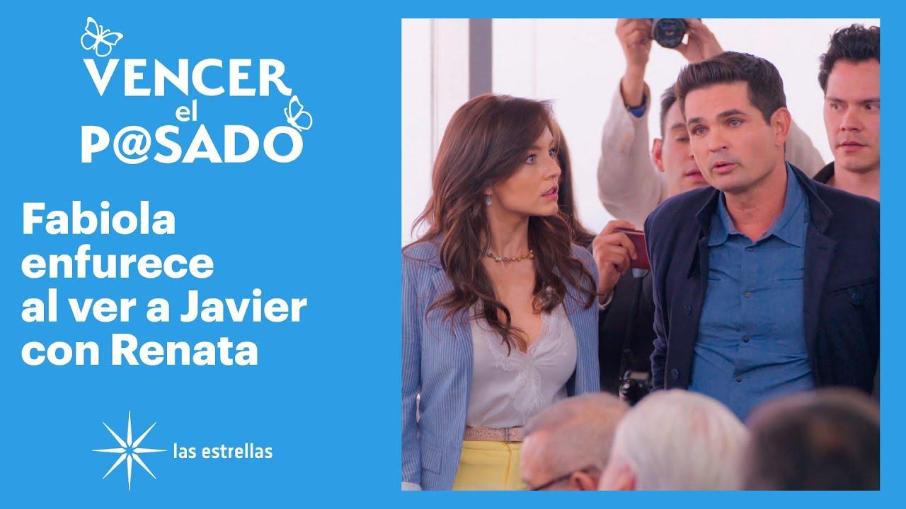 Vencer el pasado: ¡Javier pide que Renata se quede en la conferencia! | C-8 | Las Estrellas