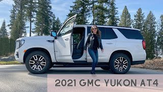 2021 GMC Yukon AT4 for the Adventure Family!