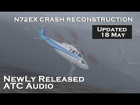 Newly released Pilot to ATC Audio!  N72EX (Kobe Bryant) Crash Reconstruction.