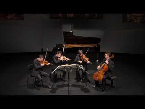 The Quatuor Ebène plays Haydn Op. 20/2