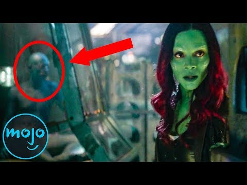 Top 10 Easter Eggs in Avengers: Infinity War