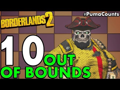 Top 10 Coolest Out of Bounds Map Glitches in Borderlands 2 (Hidden Locations) #PumaCounts
