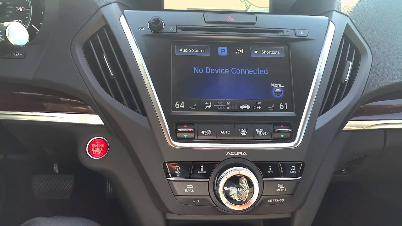 how to change the language on your new acura youtube