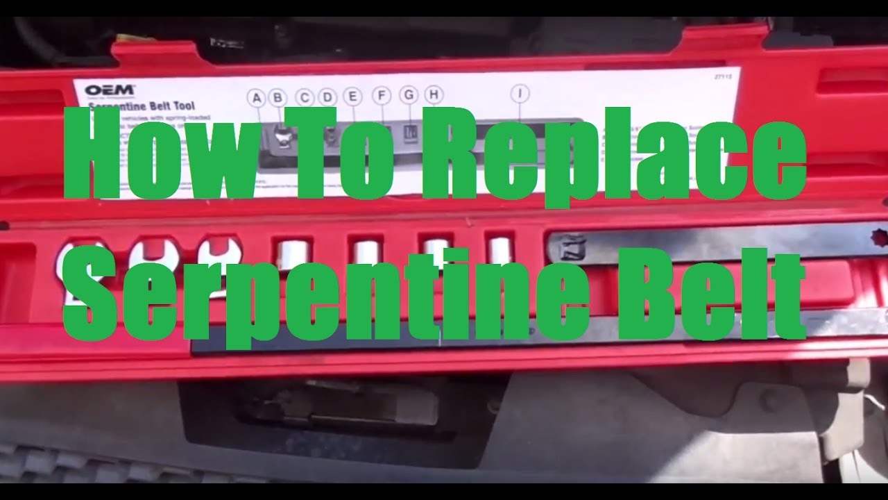 97 Ford Taurus Dohc Alternator Wiring Diagram Reveolution Of 1996 How To Replace Serpentine Belt In 2000 2007 Youtube Rh Com 30 Engine Fuel System