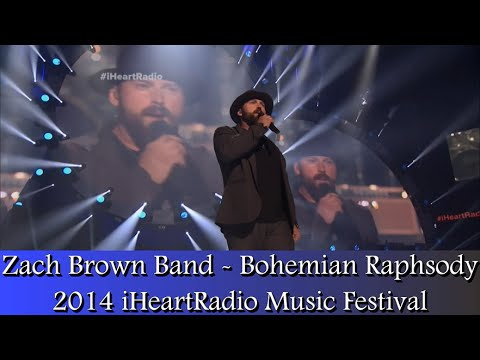 Zac Brown Band - Bohemian Rhapsody (2014 iHeartradio)