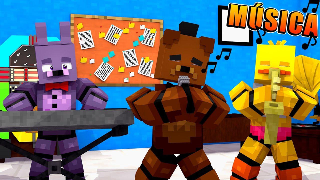 DIARIO DE UM ANIMATRONIC 2 - FIZEMOS UMA MUSICA!! #12