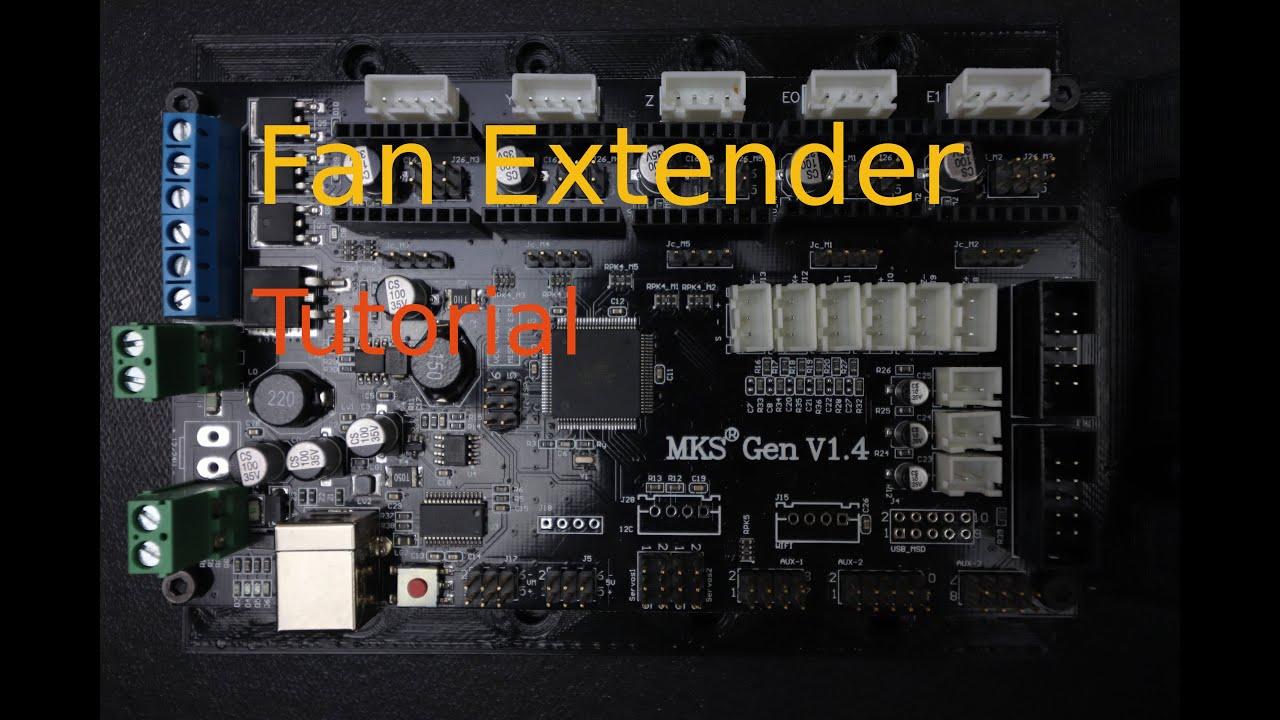 MKS Gen 1 4 - Fan Extender