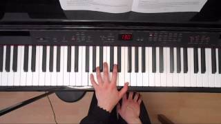 The Rocking Horse Gurlitt B:1 Grade 1 Abrsm 2015/2016 - Left Hand - Piano Tutorial