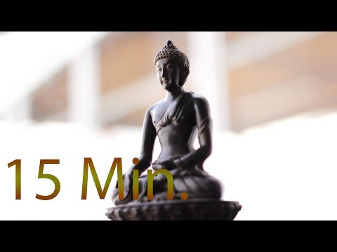 15 Min. Meditation Music for Positive Energy - Buddhist Meditation Music l Relax Mind Body