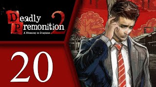 Deadly Premonition playthrough pt20 - Demons, Secret Lab and a Plot Twist!