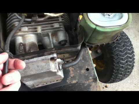 How To Clean Lawnmower Carburetor John Deere Lt155