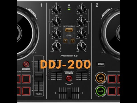Pioneer DDJ-200 (New Beginner Controller)