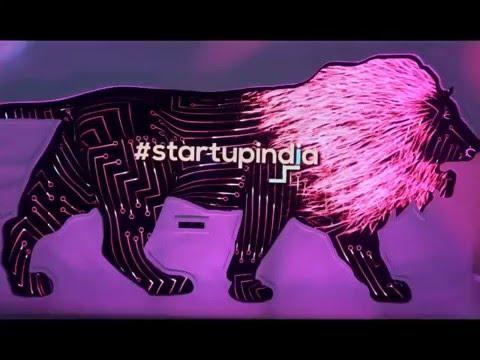 Gesture Interactive Startup India at Make in India week in Mumbai 2016