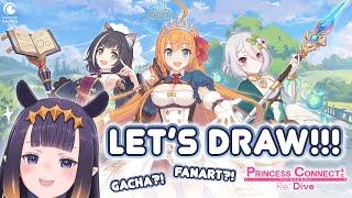 【Princess Connect: Re Dive】 YABAI DESU NE!! Let's Draw Priconne!!!
