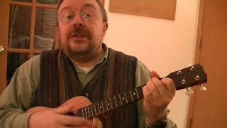 "Willard Losinger Performs ""Anak"" (Tagalog) by Freddie Aguilar, with Ukulele Accompaniment"