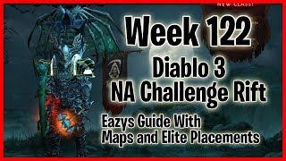 Diablo 3 NA Challenge Rift Week 122 Barb