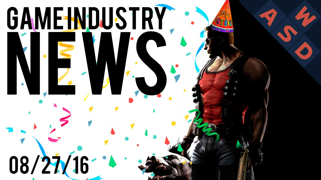 Happy Birthday Duke Game Industry News Wrap Up August