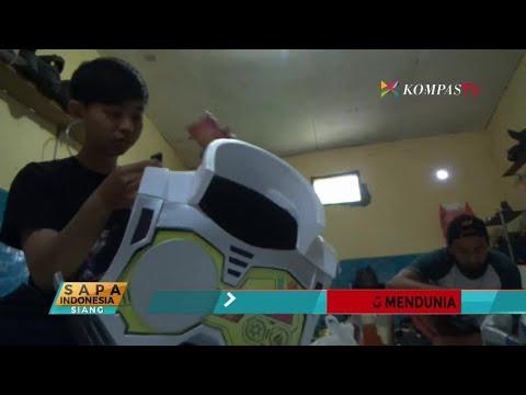 """Perancang """"Cosplay"""" dari Malang Ini Mendunia"""