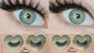 Too Faced Better Than Sex 3D FALSIES Lashes REVIEW 2020 | LILLEE JEAN